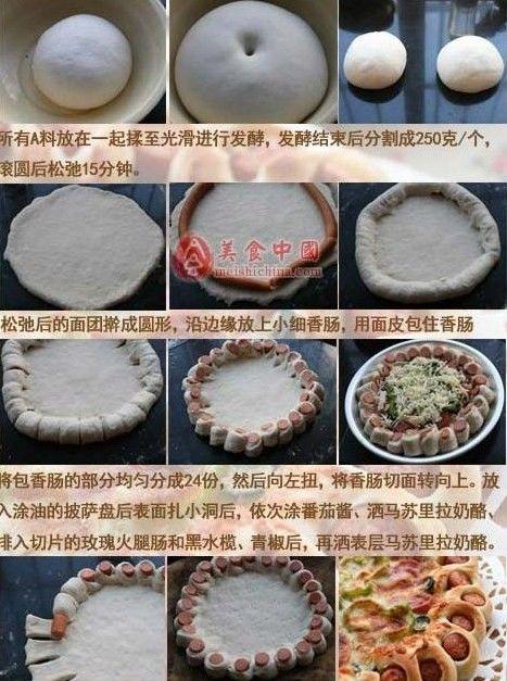 Pizza süslemek için nasıl (pizza kenarı, çok lezzetli oldu!). Yorum: Kayd - Rusça Servisi Online Tanışma
