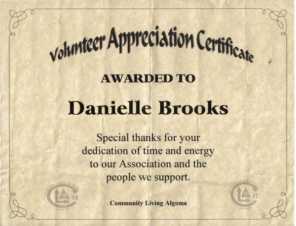 Free printable certificates for parent volunteers just b for Volunteer appreciation certificates free templates