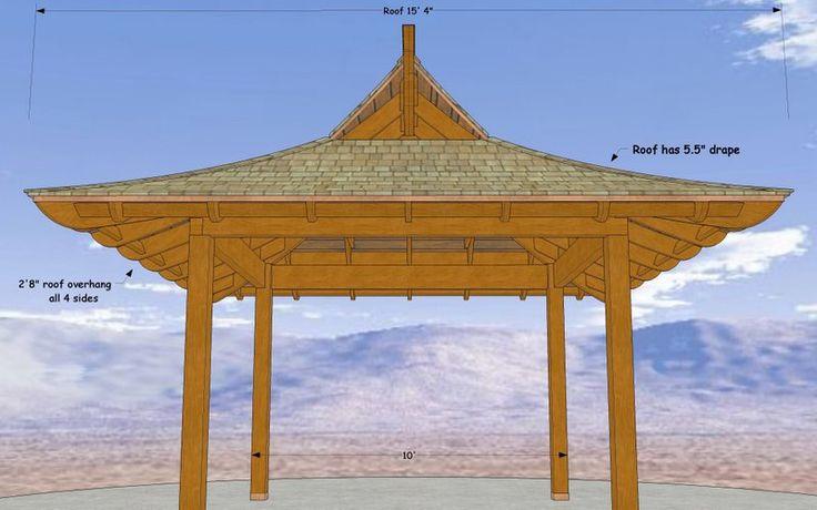 17 Best Images About Pagoda Pergola Ideas On Pinterest
