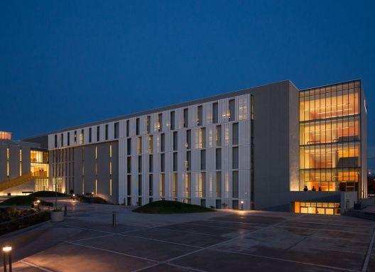 "Producto: Paneles Screen | Screenpanel, Paneles Screen | Quadrolines 30x15 Perforado Programa: Universidad, Universidad Arquitectos: ""GRAA Arqtos"""