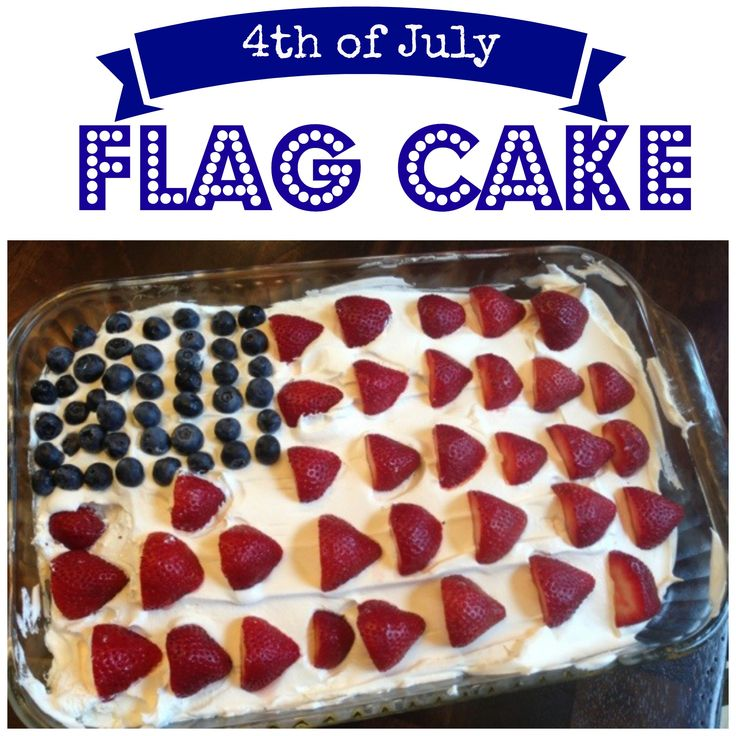 fourth of july jello cake