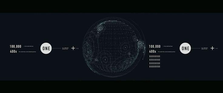 UI/OS concept design and art direction for James Bond - Spectre. Studio: Method. Creative Director - Simon Cassels