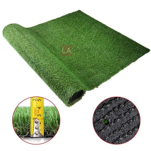 Thelashop 4 X6 6 Artificial Grass Fake Turf Synthetic Pet Turf Roll Pet Turf Artificial Turf Artificial Grass Rug
