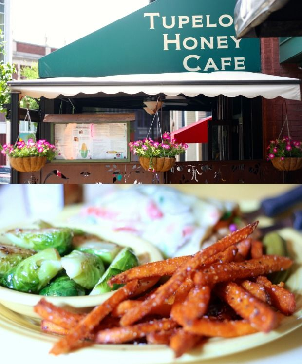 I've heard about this place from a few different folks. Asheville, NC, and the Tupelo Honey Cafe. says another pinner