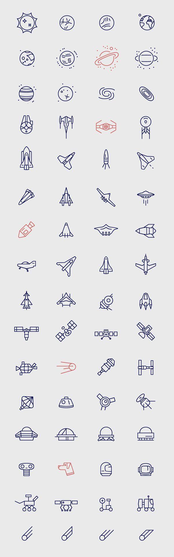 """Infinity – Free Space Icons   just my type   De Thin Line trend. Dunne lijntjes gebruiken om je website te voorzien van icoontjes. Ook animaties in deze stijl is """"the new best thing!"""""""