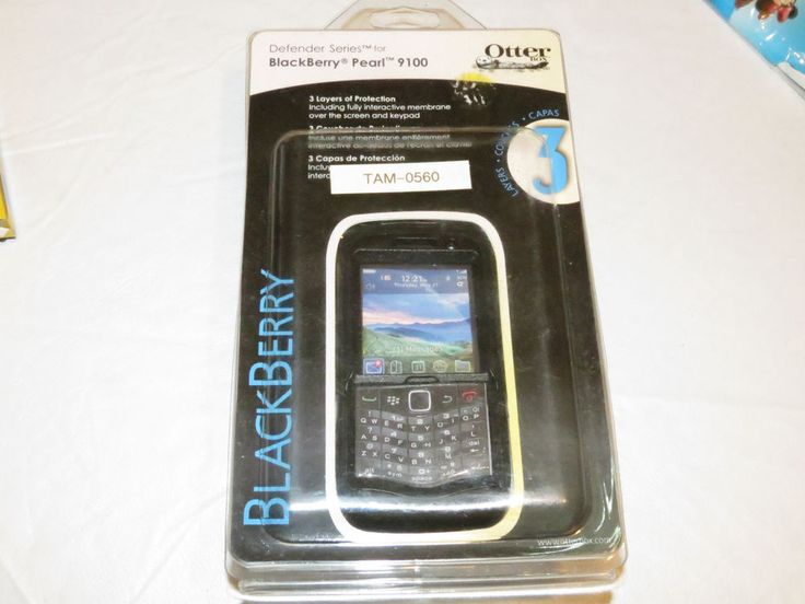 Ottter Box Defender Series Blackberry Pearl 9100 blet clip cell phone case NEW# #OtterBox