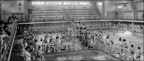 Old huyton google search old liverpool pinterest - Swimming pools in liverpool with slides ...