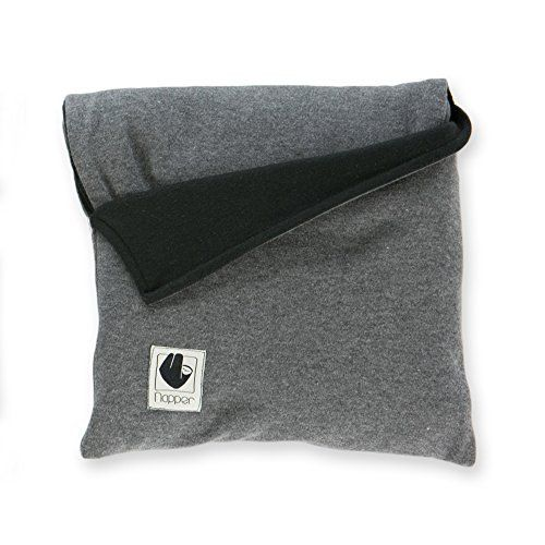 Scarf Hoodie (Black) $58, perfect for travel, built in bluetooth earbuds.