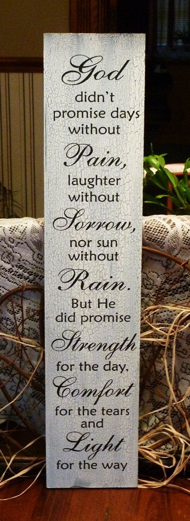 Strength for the day..