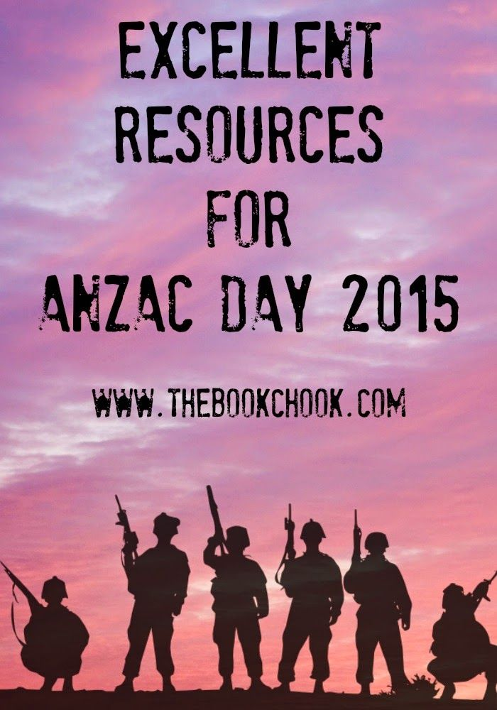Excellent Resources for Anzac Day