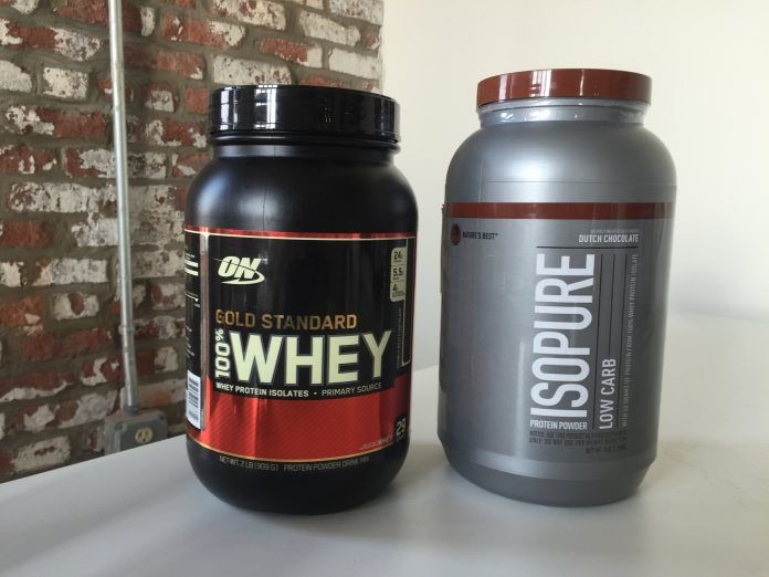 Optimum Nutrition Gold Standard Vs. Isopure Low Carb — Which Is the Best Whey?