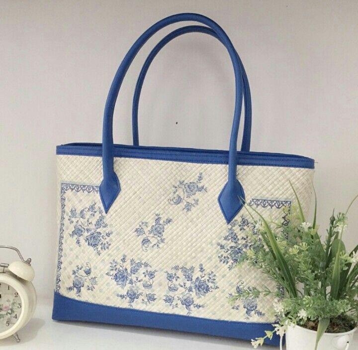 Sky Painting - Woven Bag