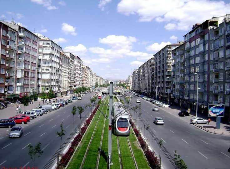 Turkey, KAYSERI CITY VIEW