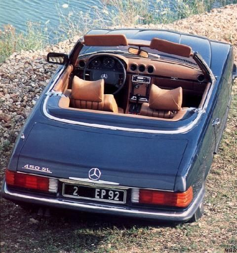 ne plus ultra.1974 mercedes benz 450 sl.