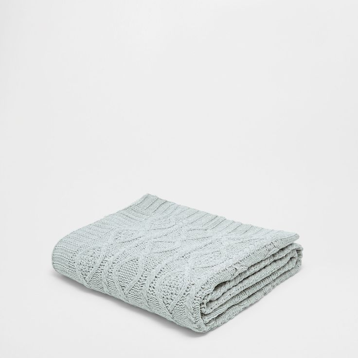 Chenille deken | Zara Home Holland