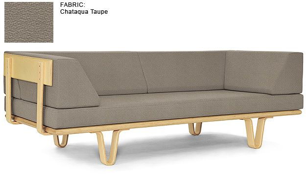 mid-century daybed by Modernica: Study Daybeds, Bent Legs, 1795 Daybeds, Bentwood Daybeds, View Daybeds, Daybeds T1, Legs Daybeds, Daybeds Couch,  Day Beds