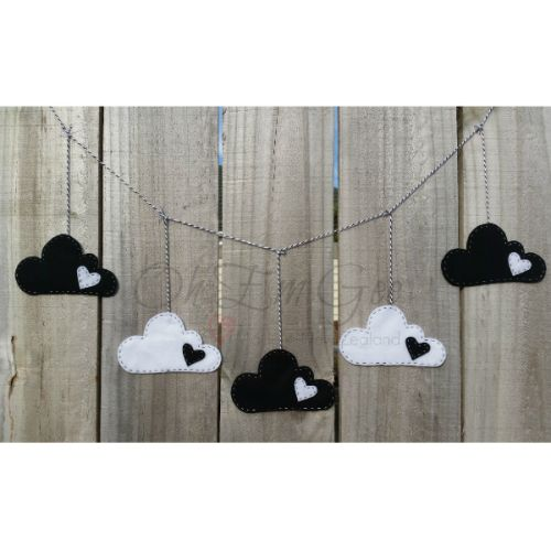 Starting from $35 NZD. Perfect for a nursery, this garland can provide a calm and relaxing environment, yet alternating colours, can also be used to stimulate their mind – essential in baby's learning.