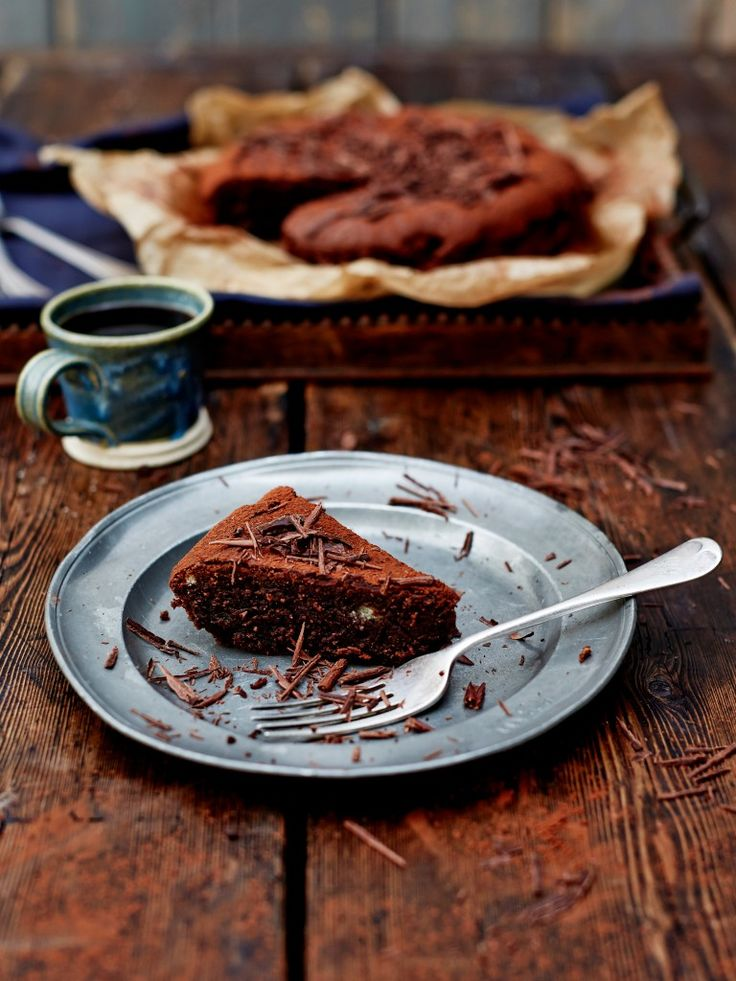 Jamie Oliver's coffee cake. Substitute castor sugar with palm sugar for a paleo version.