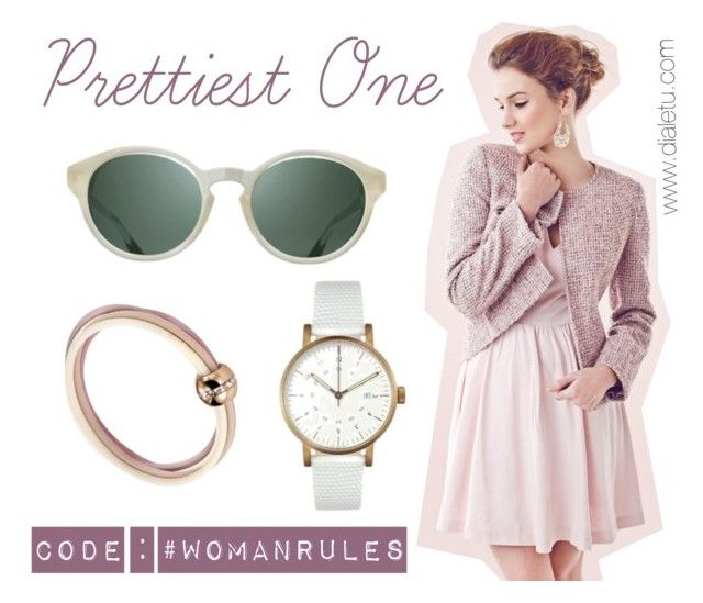 """Pretty Girl"" by dialetu-store ❤ liked on Polyvore featuring womanrules"