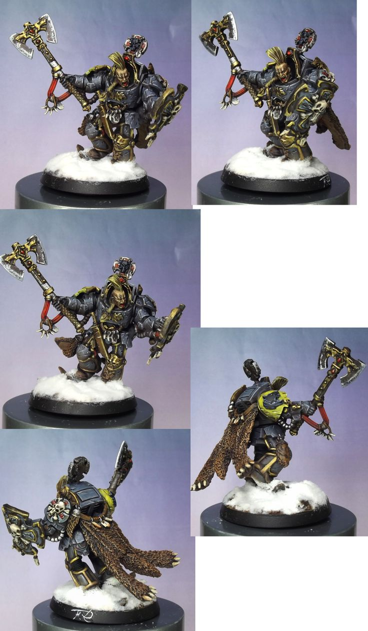 terminator space wolf ( work for a friend...)