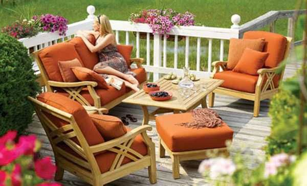 outdoor furniture for small decks