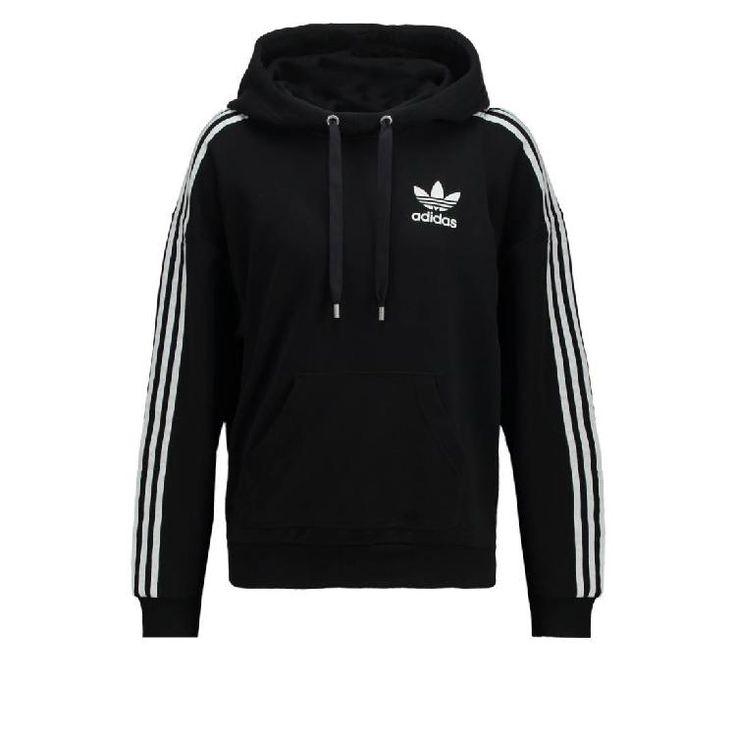 Kapuzenpullover - black by adidas Originals