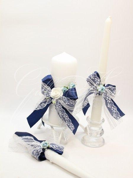 Набор из трех свечей Домашний очаг Gilliann Rustik Velvet CAN086, http://www.wedstyle.su/katalog/ceremony/svadebnye-svechi, wedding candle, wedding accessories