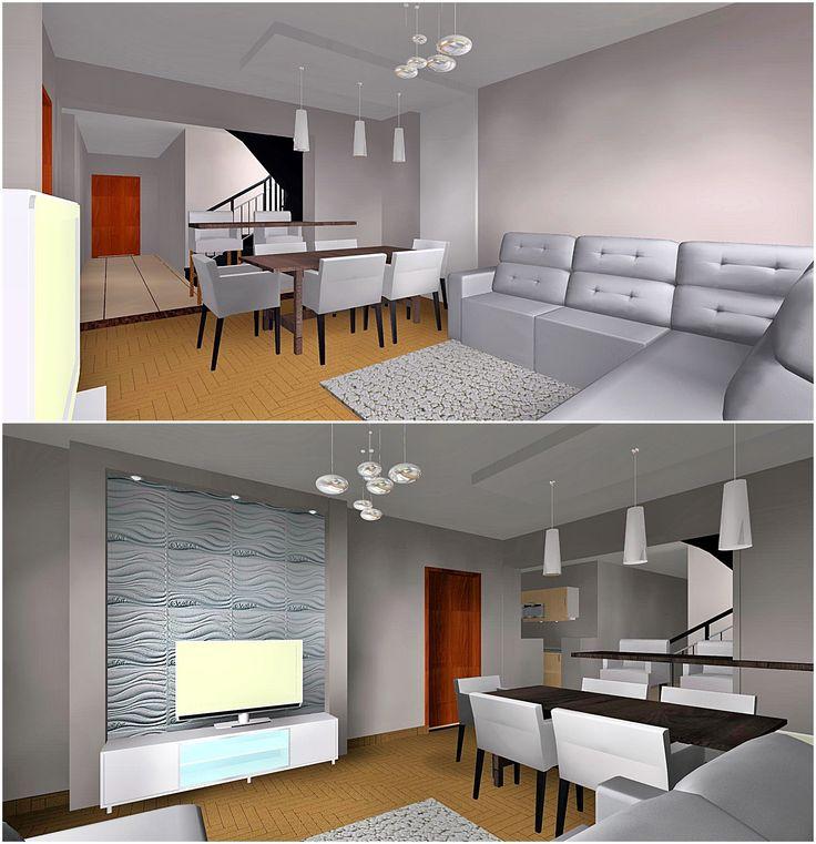 #nappali #étkező #livingroom #diningroom #modernhome #interiordesign #lakberendezés #gddesign.hu #gd23 #gergelydoralakberendezo