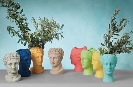 Vases Hygeia & Hermes Sophia's new vases prove that through thinking the world around us can flourish.