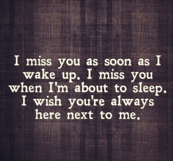 I Miss You Quotes For Him: I Miss You Like Crazy.