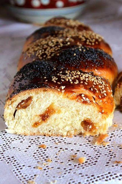 La Trappola Golosa  : Il pane dolce dello Shabbat con lievito madre, com...