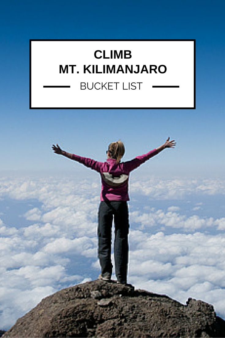 Dream of climbing Mount Kilamanjaro? Find out how to tick this one off your #BucketList