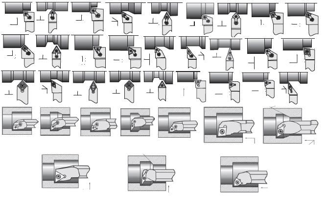 Turning Toolholders and Boring Bars Indexable