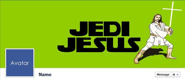 Free Facebook Timeline Cover Photos - Quality-Cover.com: Jedi Jesus Funny Facebook Cover