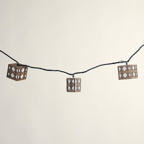 One of my favorite discoveries at WorldMarket.com: Natural Cane String Lights, Set of 10