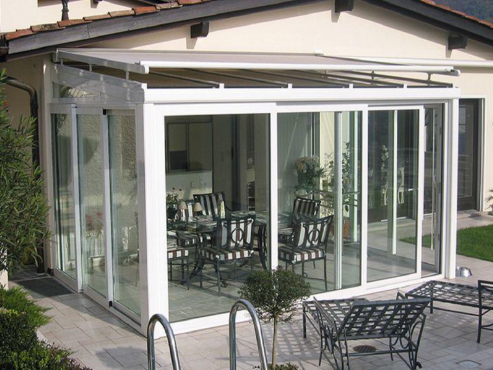 Oltre 25 fantastiche idee su copertura per veranda su - Barriere antirumore per terrazzi ...