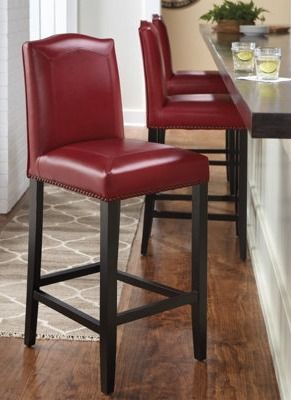 The mitered-leather Carson Stool is one of the finest, bar none. | Grandin Road…
