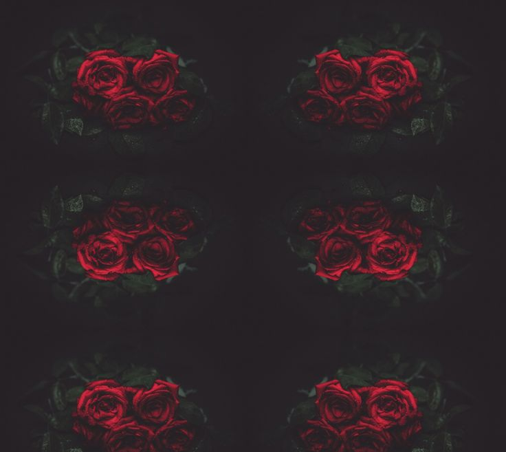 """Fabric+""""Roses""""+by+Mixed+Imagery"""