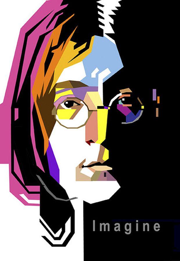 John Lennon. #musicart #posters http://www.pinterest.com/TheHitman14/music-poster-art-%2B/