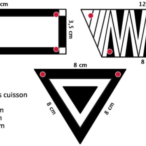 La tendance est au graphique : formes géométriques, rayures et motifs aztèques sont présents partout ! Et pourquoi pas sur vos bijoux grâce à la technique du plastique fou ? - Modesettravaux.fr
