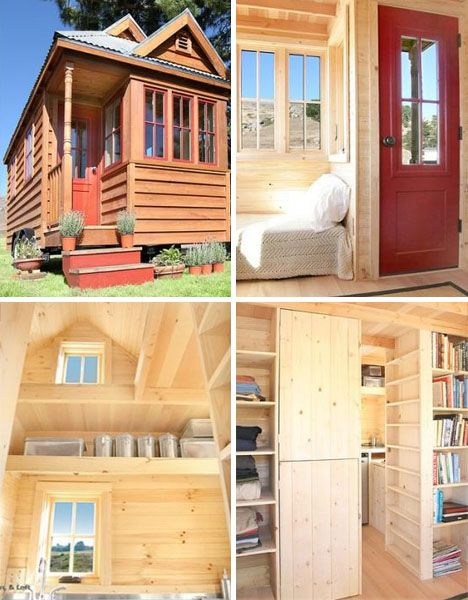 17 best ideas about tumbleweed homes on pinterest small cabins tiny guest house and tiny cabins - Tiny house small space plan ...