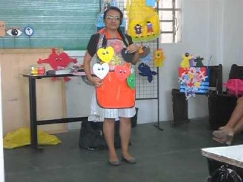 Curso de treinamento para líderes e professores do departamento infantil (Oficina de Avental) - YouTube