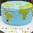 Mapamundi Cake