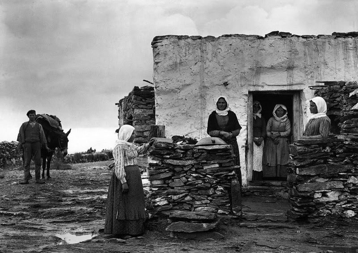 Amorgos, Greece, 1911. By Fred Boissonas.