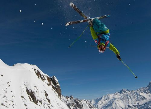Chamonix Mont Blanc, un'immagine durante il FWT di Chamonix Mont Blanc