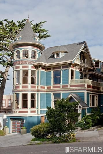 Love this Victorian house in San Francisco.