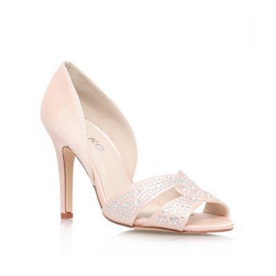 Miss KG Pale pink 'Gretal' high heel court shoe- at Debenhams.com