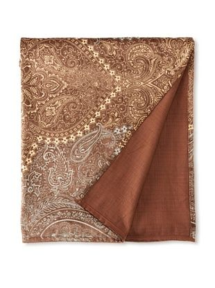 Filling Spaces Jayne Throw (Chocolate/Gold/Silver)