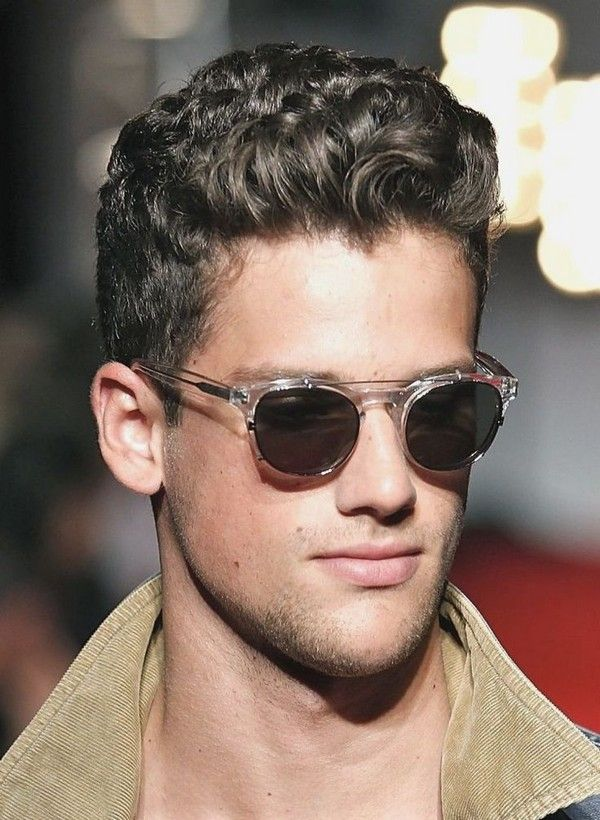 Mens Short Curly Hairstyles