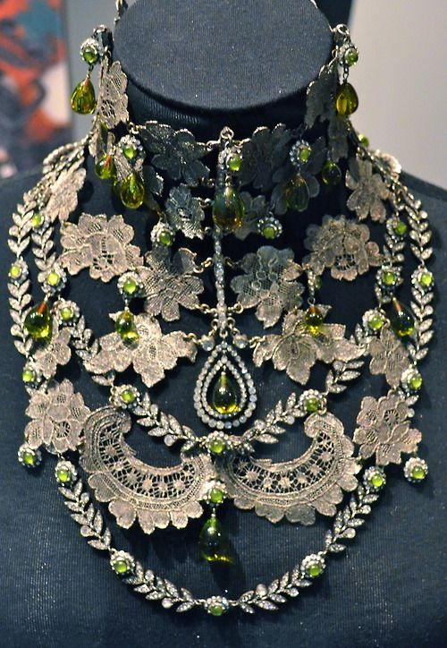Vintage necklace by Christian Dior